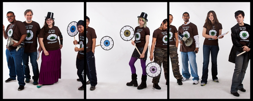 PGH4ART Team photographed by Jenny Jean Photography
